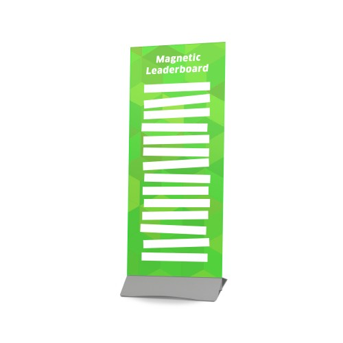 Magnetic Leaderboard With Magnets- The Big Display Company
