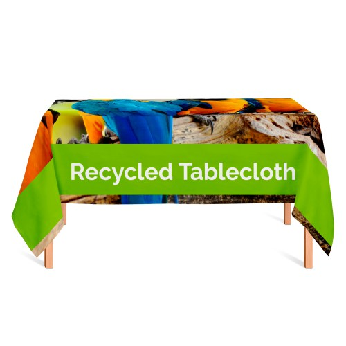 Recycled Printed Tablecloth - Bespoke Sizes - The Big Display Company