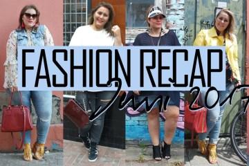 Fashion recap: juni 2017