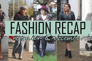 fashion recap: november & december 2017