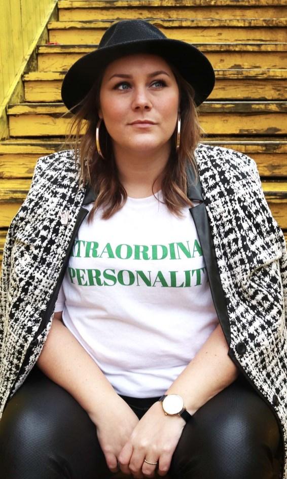 extraordinairy personality