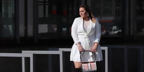 dress(ed) in white