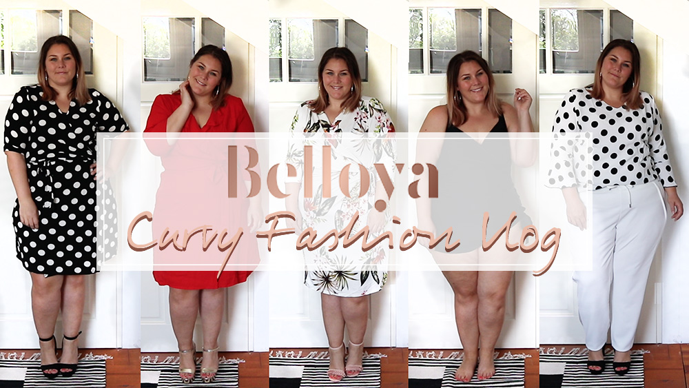 belloya shoplog [Curvy Fashion Vlog]