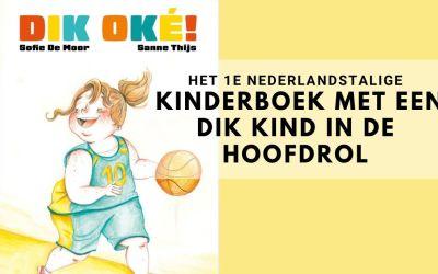 het eerste Nederlandstalige kinderboek met een dik kind in de hoofdrol