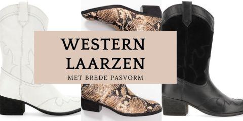 western laarzen met brede pasvorm