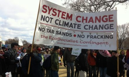 Change the system not the climate: ecological struggles in the neoliberal era
