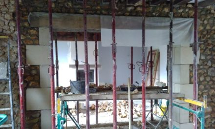 Upgrading the main house starting with the ground floor