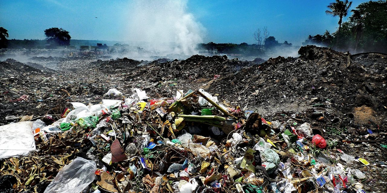 Is Earth the largest rubbish dump in the history of the universe?