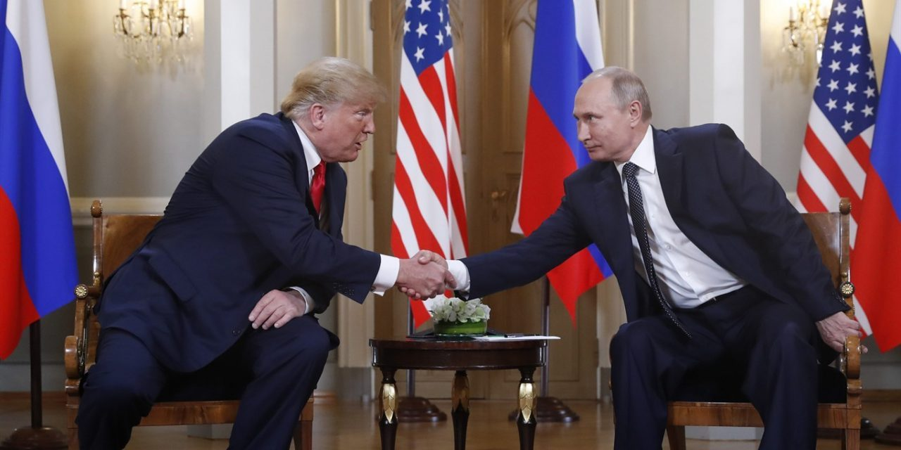 Trump and Putin are clearly in cahoots – over fossil fuels