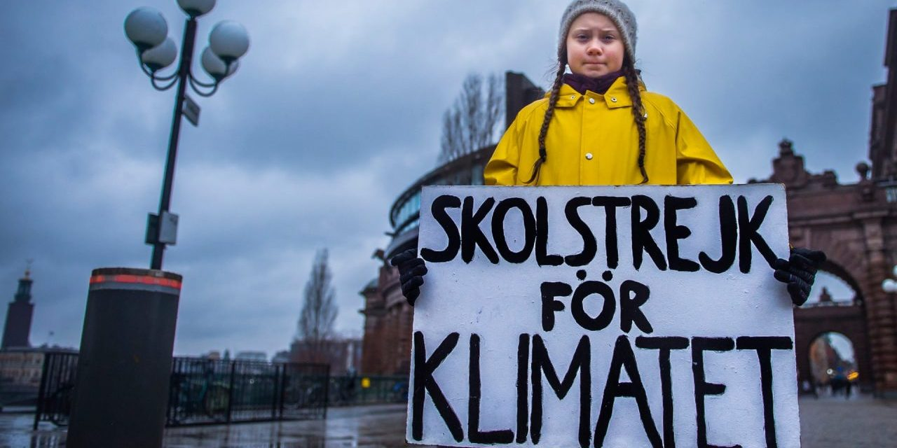 Thanks, climate strikers. Your action matters and your power will be felt.