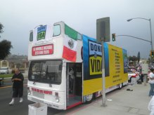 2011 Mexican Independence Parade, Done Vida Bus