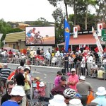 Big Screen at TDU