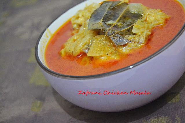 Zafrani Chicken Masala