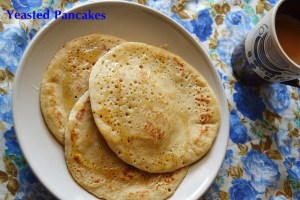 Yeasted Wholewheat Pancakes