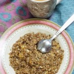 Aval Kuzhachathu – Rice Flakes with Jaggery and Banana