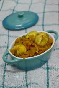 Kaada Mutta Roast ~ Quail Egg Roast