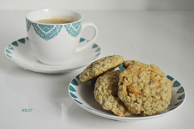 Oats Butterscotch Cookies