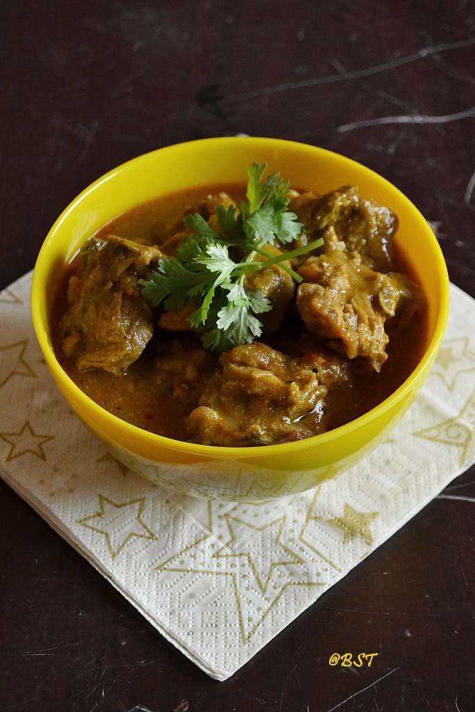 Raarha Ghosht ~ Special Mutton Curry