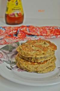 Wholewheat Oats Pancakes