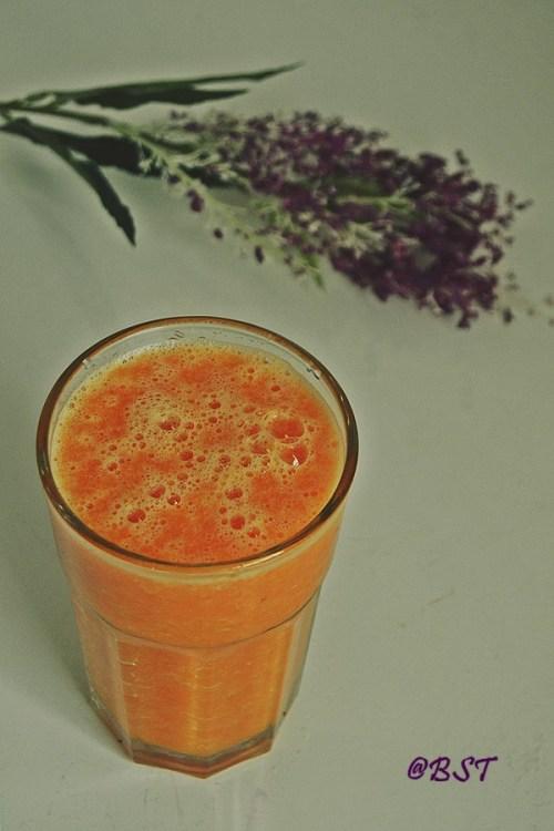 10. Orange Carrot Juice