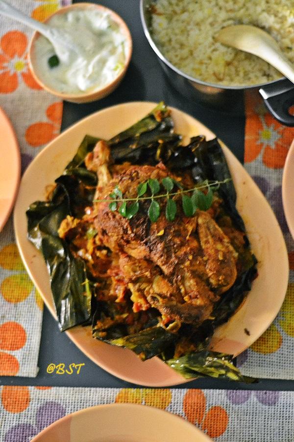 Kozhi Nirachathu ~ Malabar Stuffed and Fried Whole Chicken | My Guest Post for Working Mummy's Recipes