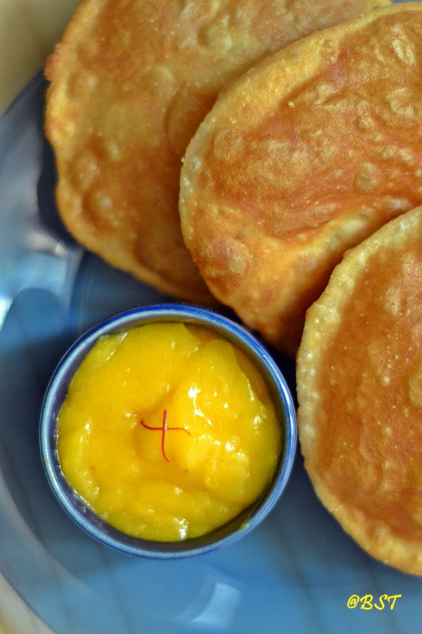 Aamras ~ Sweetened Mango Puree