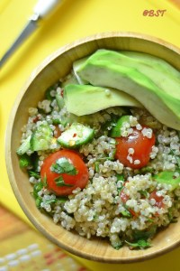 Simple Quinoa Salad