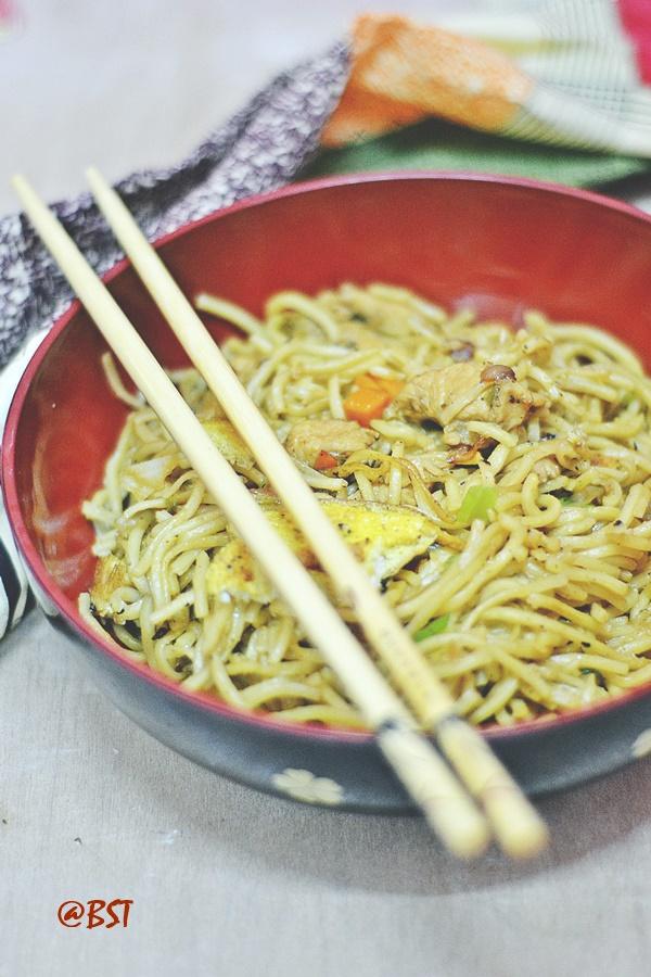 Bakmi Goreng/ Mie Goreng ~ Indonesian Fried Noodles