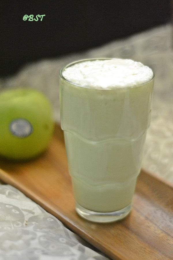 Apple Pista Milkshake
