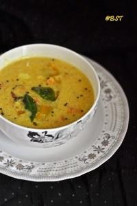 Parippu Thalichathu ~ Malabar Lentil Curry