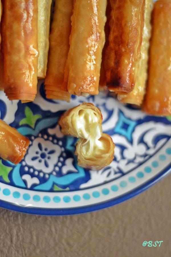 Usbu Al Zainab ~ Crunchy Cheese Fingers