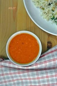 Daqoos ~ Garlic Tomato Sauce