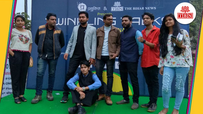 bihar-hindi-news-tbn-patna-twinkling-talks-open-mic-patna-chapter-1-the-bihar-news