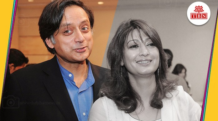 Sunanda-pushkar-shashi-throor-The-Bihar-News