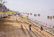 Ganga Ghaats are ready for chhath puja in patna   The Bihar News