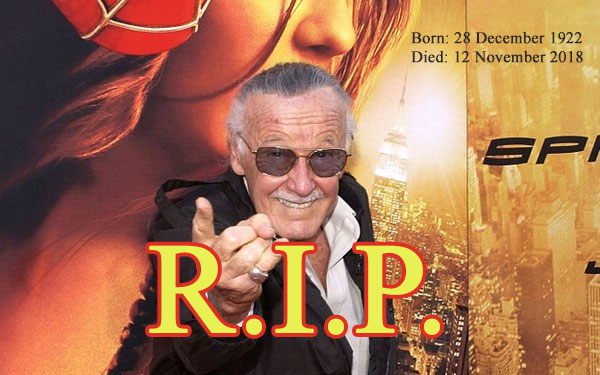 Rip Stan Lee | The Bihar News