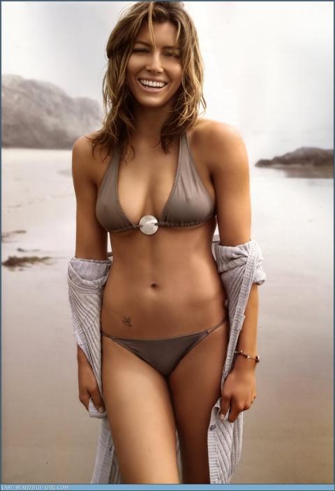 Jessica Biel-beize-bikini-sexy