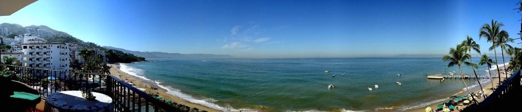 muertos-beach-bay Puerto Vallarta-panoramic