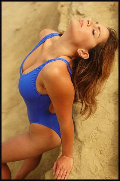Blue One Piece Swimsuits