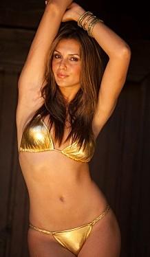 Metallic Gold Bikini