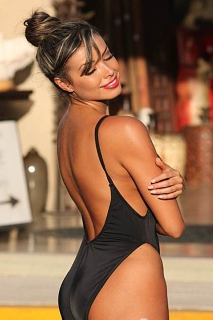 Figure Shaping One Piece Swimuit swimwear
