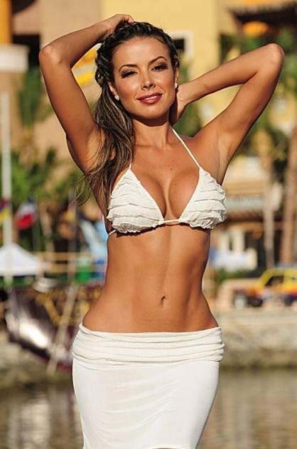 Peek a Boo Thong Bikini Skirted Thong Bikinis