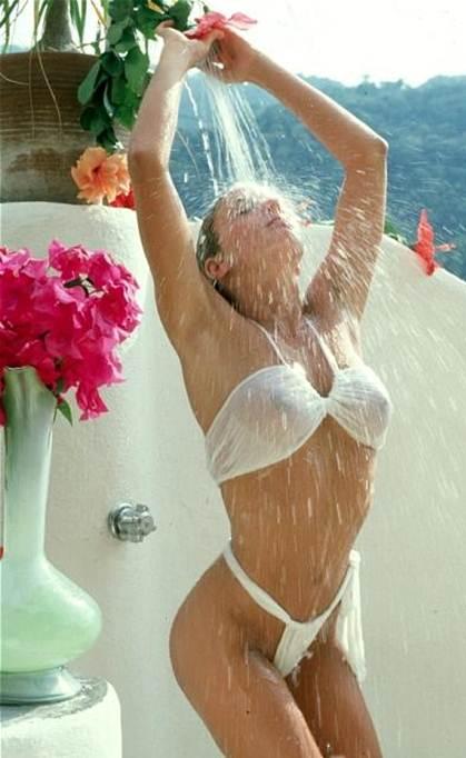 How to Buy your Girlfriend a Thong Bikini White Sheer Tonga