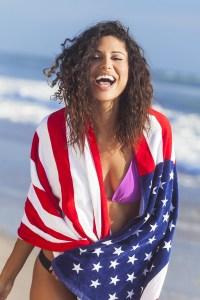 sandy durane 4th of july bikini pics