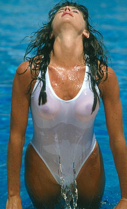 see-thru-when-wet-swimwear-brown-see-thru-through-white-one-piece-swimsuit-when-wet