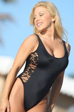 Sensual-One-Piece-Swimsuit-with Sheer-Lace-Side-Panel