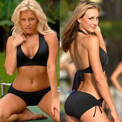 Shaping Slider Halter Bikini