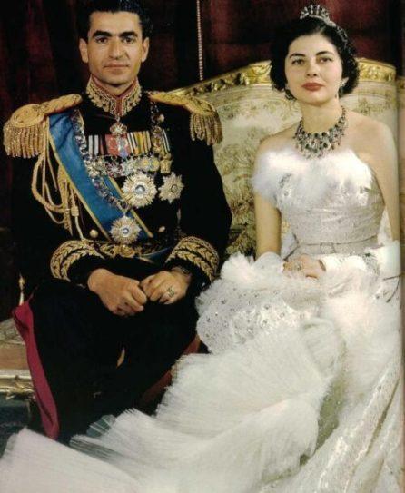 Sha de Iran y su Esposa Soraya