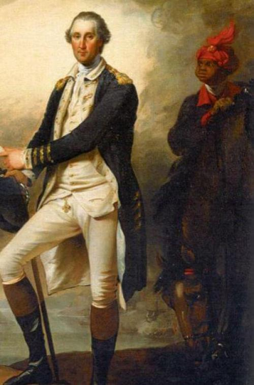 Billy Lee George Washington John Trumbull painting