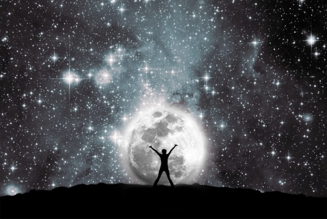 The visible Universe is really big. Most scientists believe the invisible Universe --- the Universe we can't see -- is much bigger.